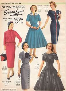 what did wear in the 1950s 1950s fashion
