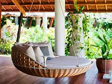 cool and simple patio swings decoration interior design
