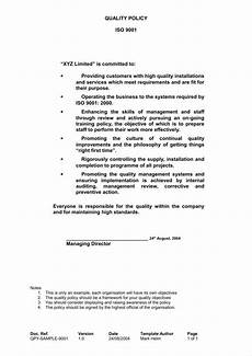 Business Policy Example 26 Policy Template Samples Free Pdf Word Format
