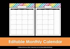 Printable Editable Calendars My 2015 Printable Rainbow Daily Planner All About Planners