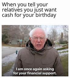 bernie sanders is once again asking you for some sweet