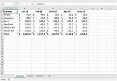 Sample Of A Spreadsheet Spreadsheet Structure Thedatalabs