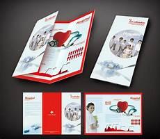 Advertisement Leaflets Customized Three Leaf Panel Fold Brochure Flyer Printing
