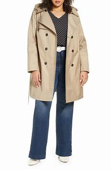 plus size trench coats for 3x plus size s halogen hooded trench coat size 3x