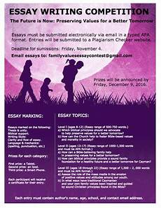 Essay Family Values Competition On Family Values
