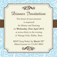 Staff Dinner Invitation Fab Dinner Party Invitation Wording Examples You Can Use