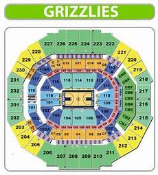 Dbacks Interactive Seating Chart Memphis Grizzlies Seating Chart Fedex Forum