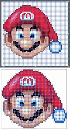 Pixelated Mario Characters How To Create A Mario Pixeled Ornament In Adobe