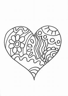 Malvorlagen Kostenlos Herz Kostenlose Malvorlage Herzen Herz Zum Ausmalen Zum Ausmalen
