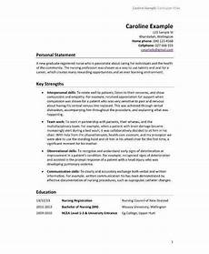 Cv Template For Nurses 13 Nursing Cv Sample Amp Templates Pdf Psd Ai Doc