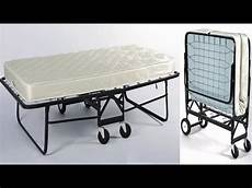 39 inch wide hospitality rollaway bed with 6 inch tufted