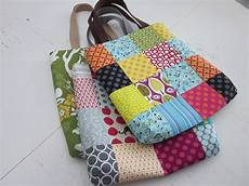 patchwork geschenke s o t a k handmade patchwork totes