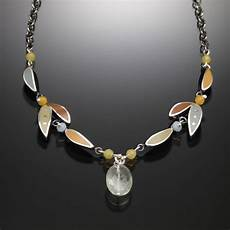 Kinzig Design Jewelry Petal Necklace With Images Necklace Jewelry Petal