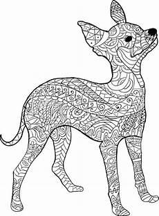 Malvorlage Hund Mandala Kostenloses Ausmalbild Hund Pinscher Die Gratis Mandala