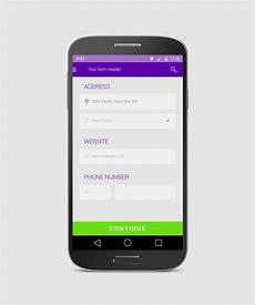 Android Registration Form Design Android Form Free App Design By Tempeescom On Deviantart