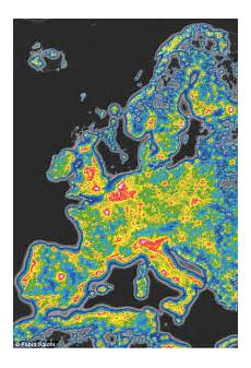 Light Pollution Map Iceland Interactive Map Reveals Light Pollution Around The Globe
