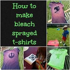 How To Make A Black Light Shirt How To Make Bleach Spray T Shirts Feltmagnet