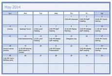 Business Calendar Calendars Solution Conceptdraw Com