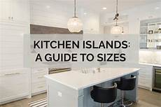 standard kitchen island dimensions kitchen islands a guide to sizes kitchinsider