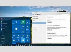 How to access 'Advanced startup' options on Windows 10 to