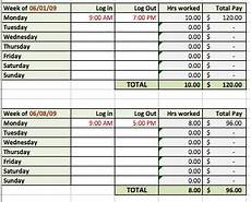 Hours Tracking Spreadsheet 6 Free Timesheet Templates For Tracking Employee Hours