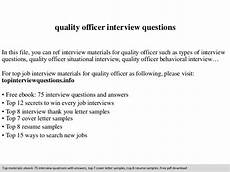 Interview Questions For Quality Engineer Supplier Quality Engineer Interview Questions