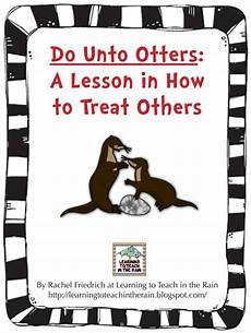 Do Unto Otters Book Activity Suggestions Teach Junkie
