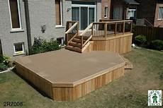 Two Level Deck Designs 2 Level Diy Deck Plans