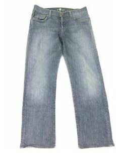7 For All Mankind Men S Jeans Size Chart 7 For All Mankind 7fam Men S Standard Button Fly Jeans