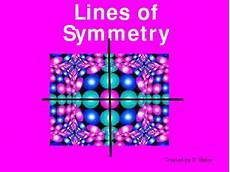 Line Of Symmetry Powerpoint Lines Of Symmetry Power Point Presentation By Dijobaker Tpt