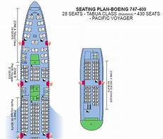 American Airlines 747 Seating Chart Air Pacific Airlines Boeing 747 400 Pacific Voyager