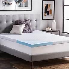 best size memory foam mattress toppers 2020 reviews