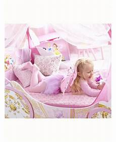disney princess carriage toddler bed with storage