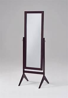 Vida Designs Nishano Cheval Mirror Free Standing Length by 15 Length Free Standing Mirror With Drawer Mirror