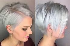 kurzhaarfrisuren graue haare bilder hairstyle grey 2017 fashion and