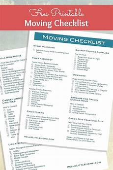 Packing To Move Checklist How To Plan A Big Move Tips Free Moving Checklist