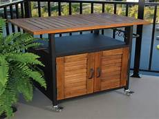 outdoor furniture cabinet grill for outdoor side table
