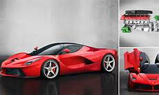 laferrari fastest ever supercar electric hybrid with top
