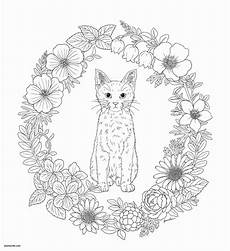 cat mandala coloring pages bubakids