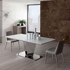 tavolo in cristallo calligaris diamante tavolo moderno in metallo piano in cristallo