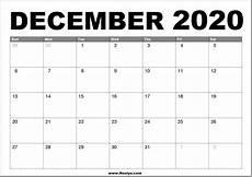 Free December 2020 Calendar Printable Calendar For December 2020 2020 Monthly