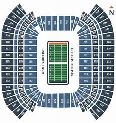 Titans Interactive Seating Chart Tennessee Titans Seating Chart Map At Nissan Stadium