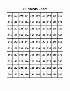 100 Board Chart Hundreds Chart Freebie 1 100 Amp 101 200 By Phipps Tpt