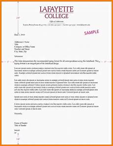 How To Write A Letter Head Example Of A Business Letter With Letterhead Filename