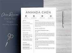 Professional Resume Templates For Word Clean Professional Resume Template Word 11655 Resume