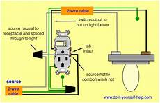 3 Way Switch Light And Outlet Combination Switch Receptacle Wiring Diagram Wiring