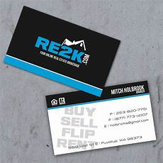 Advertising Agency Visiting Card Design Real Estate Business Cards Mitch Holbrook Re2k Outdoor