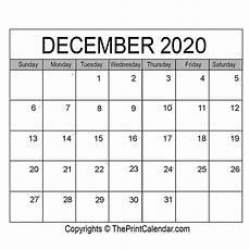 Free December 2020 Calendar December 2020 Printable Calendar Template Pdf Word Amp Excel
