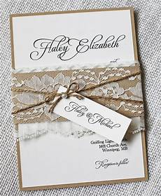 Lace Wedding Invitation Lace Wedding Invitations Rustic Wedding Invitation Elegant