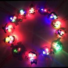 Light Up Halloween Accessories Aiseno Halloween Led Light Up Necklace 15pc Party Favors